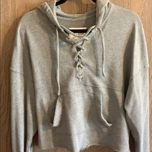 Hollister Lace Up hoodie